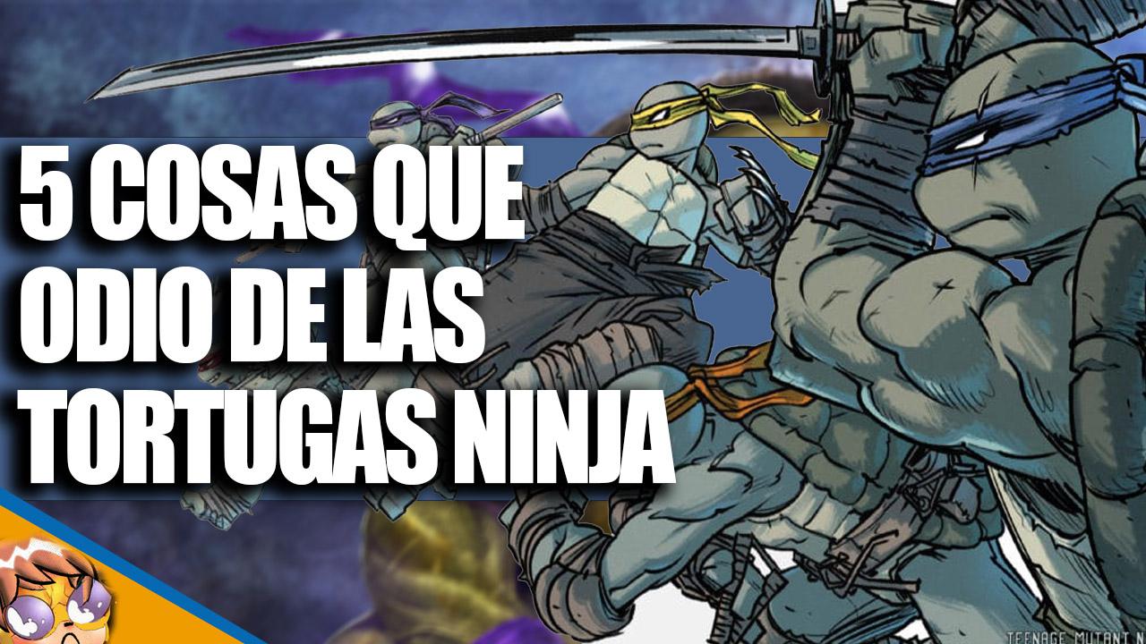 5 Cosas Que Están Mal Con Las Tortugas Ninja [VIDEO]