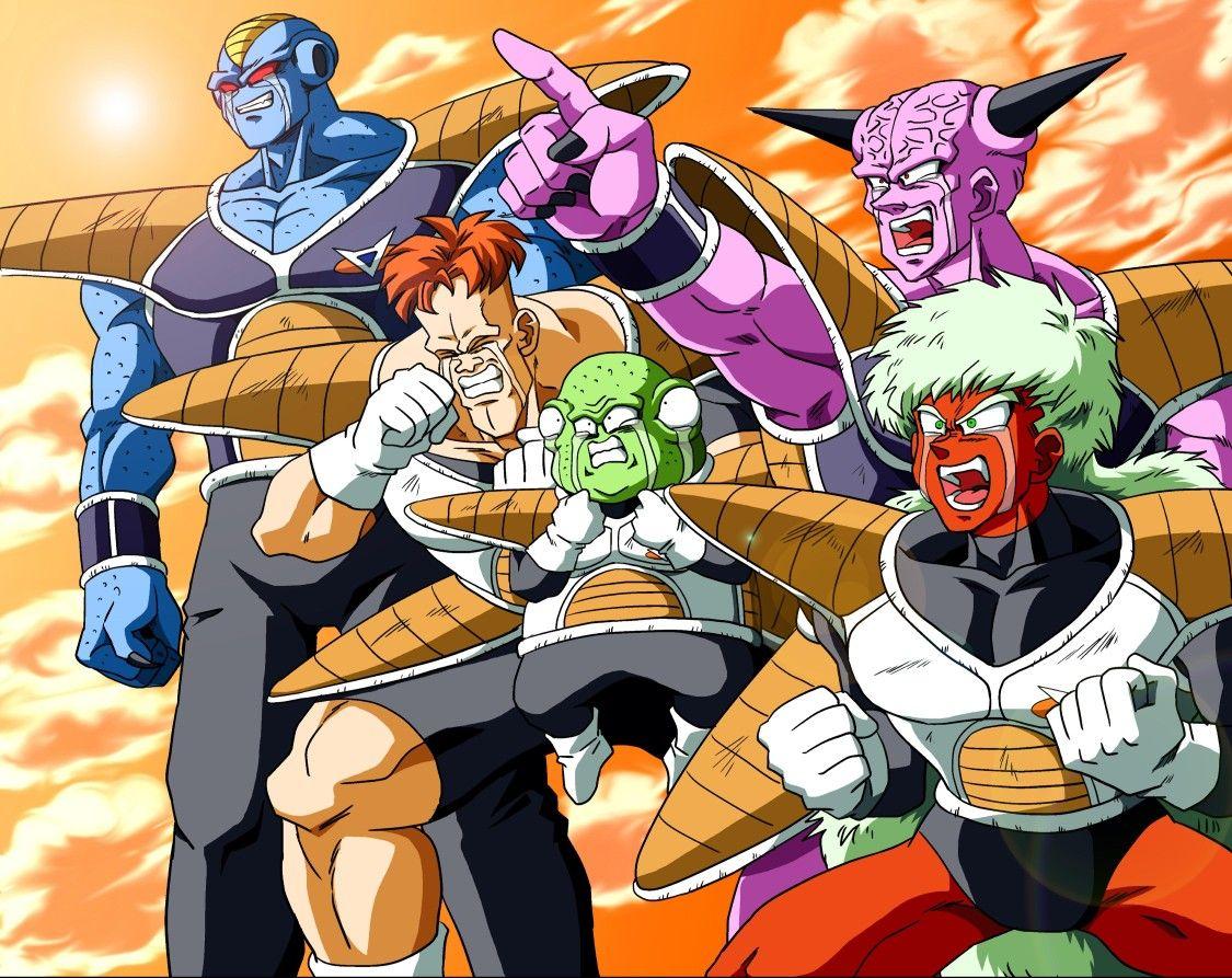 Dragon Ball: Las poses tontas de las fuerzas Ginyu pueden tener un uso importante