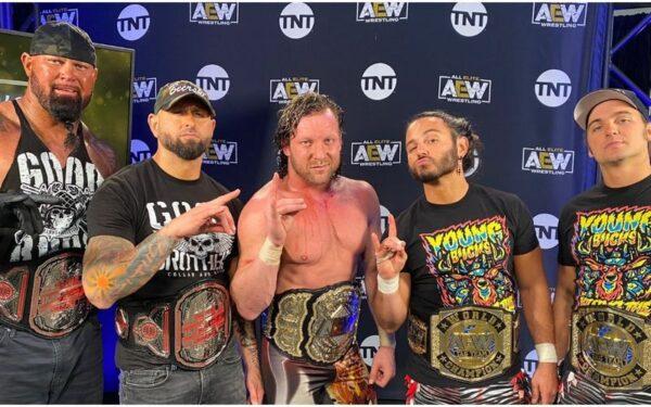Bullet Club se reúne en AEW Dynamite con un ángulo de invasión importante