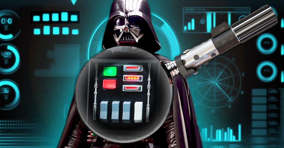 ¿Qué hacian los botones en el pecho de  Darth Vader?