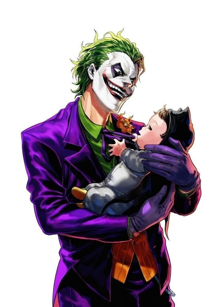 El Joker Tendrá Su Propio Manga donde Cuidara a un Bebe?!