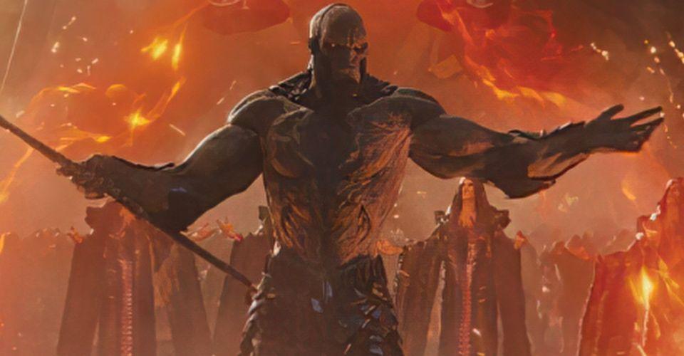 Liga de la Justicia: Nuevo arte de Darkseid de Zack Snyder's Cut