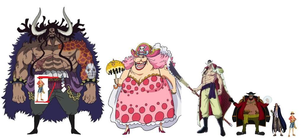 ¿Podrian Kaido y Big Mom usar a Luffy de Condón?