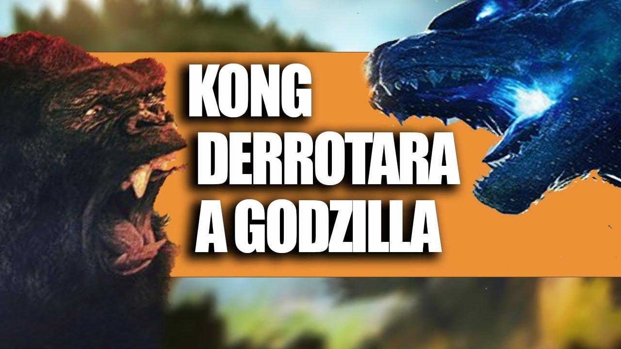 Porque Kong Derrotara Facilmente a Godzilla [VIDEO]