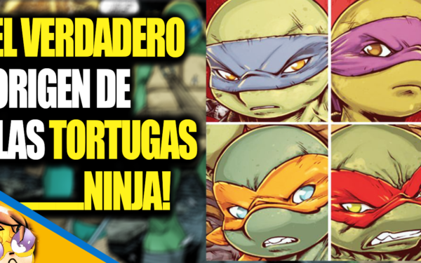 El Verdadero Origen de las Tortugas Ninja! [VIDEO COMIC]