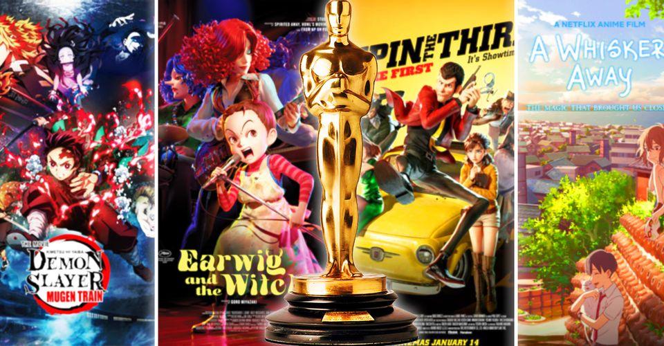 Seis películas de anime son elegibles para el Oscar este año, pero ¿alguna será nominada?