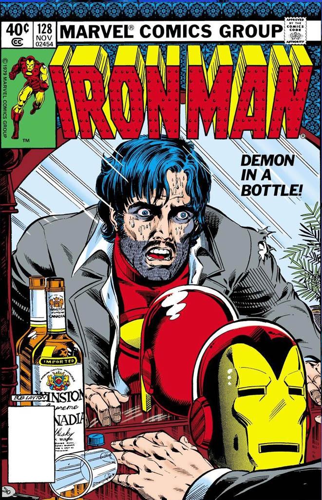 Leer Iron Man: El Demonio en una botella Online en Español