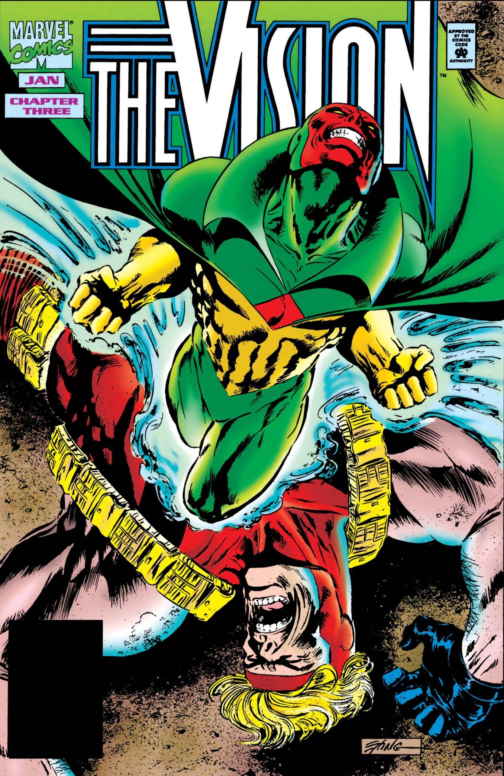 Leer Comic The Vision [Volumen 1] Online en Español