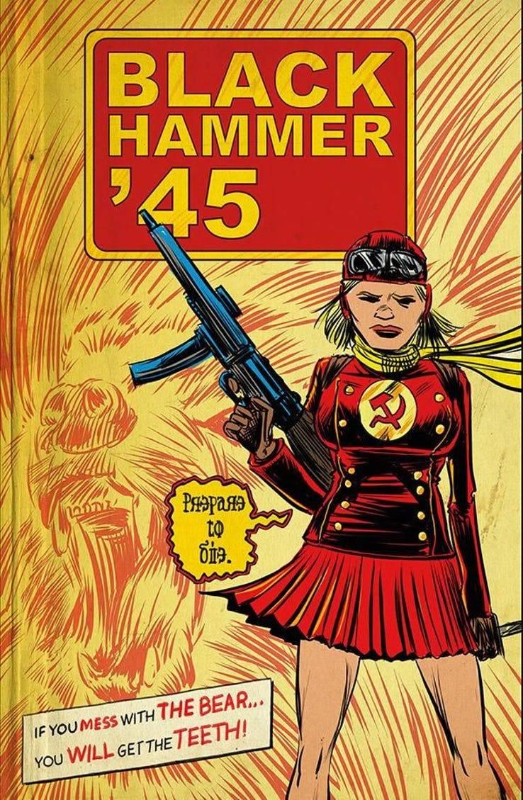 Leer Black Hammer: '45 Online en Español