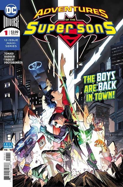 Leer Adventures of The Super Sons Online en Español