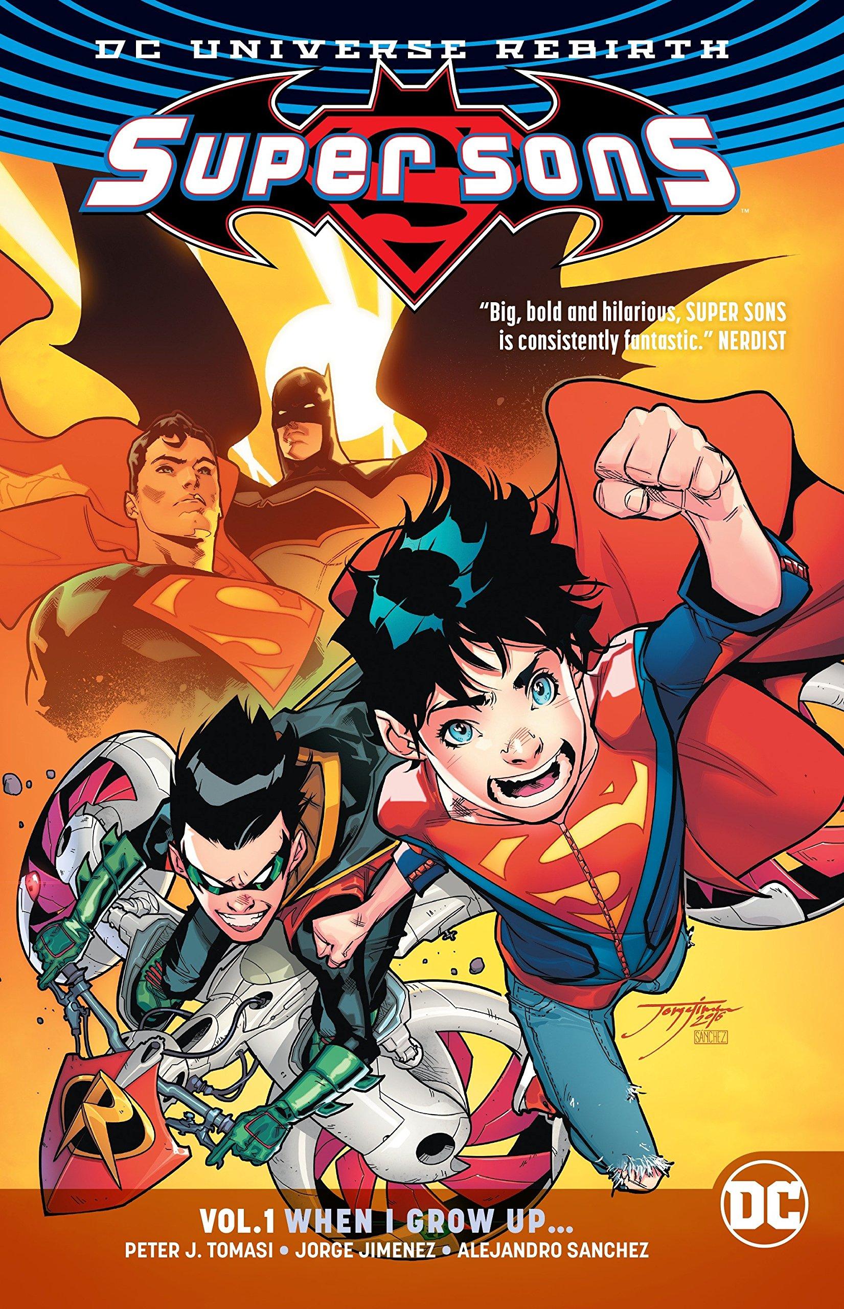 Leer Super Sons Volumen 1 Online en Español
