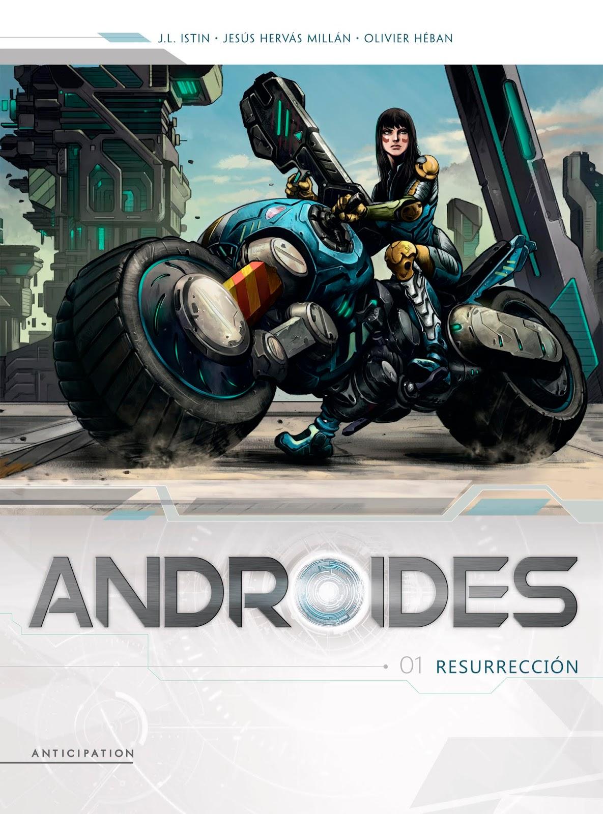 Leer Androides Comic Online en Español