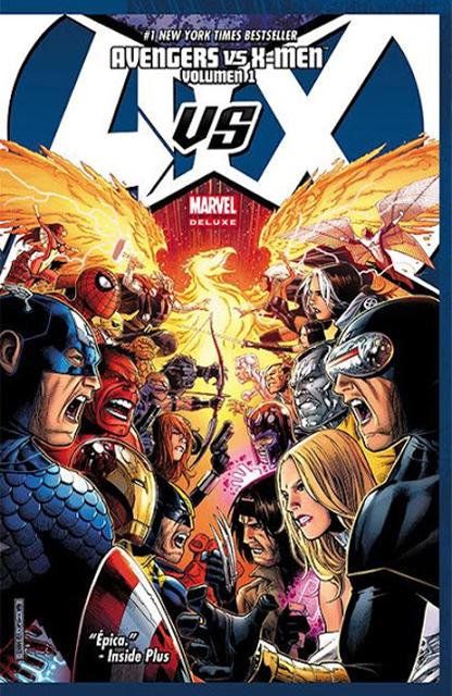 Leer Avengers Vs X-Men Online en Español