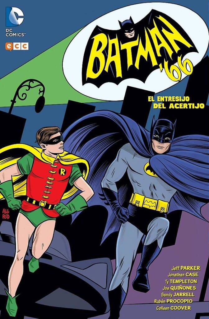 Leer Batman 66 El entresijo del acertijo Online en Español