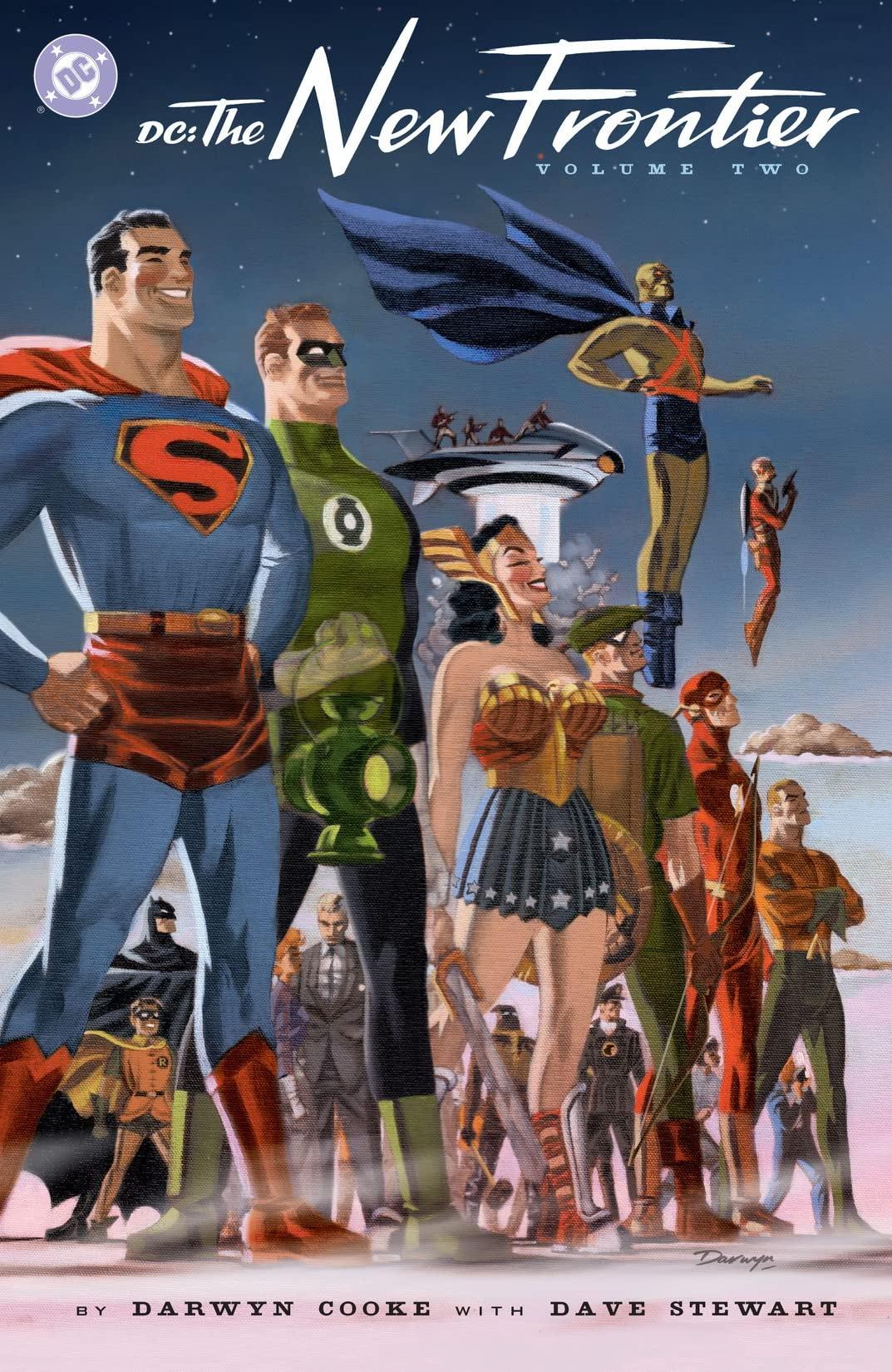 Leer DC: The New Frontier / La Nueva Frontera Online Español