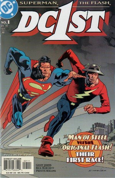 Leer DC First: Flash/Superman Online en Español