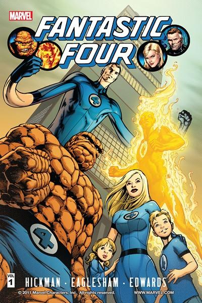 Leer Fantastic Four Jonathan Hickman Volumen 1 y 2 Online en Español