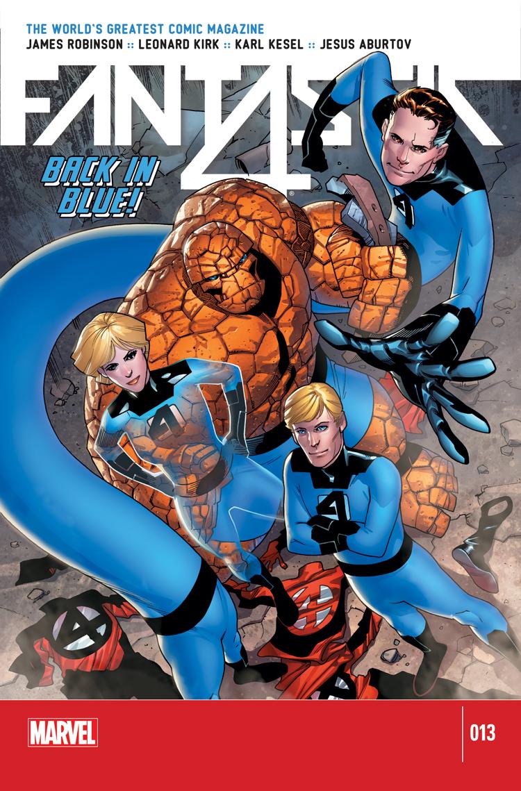 Leer Fantastic Four Volumen 4 y 5 Online en Español
