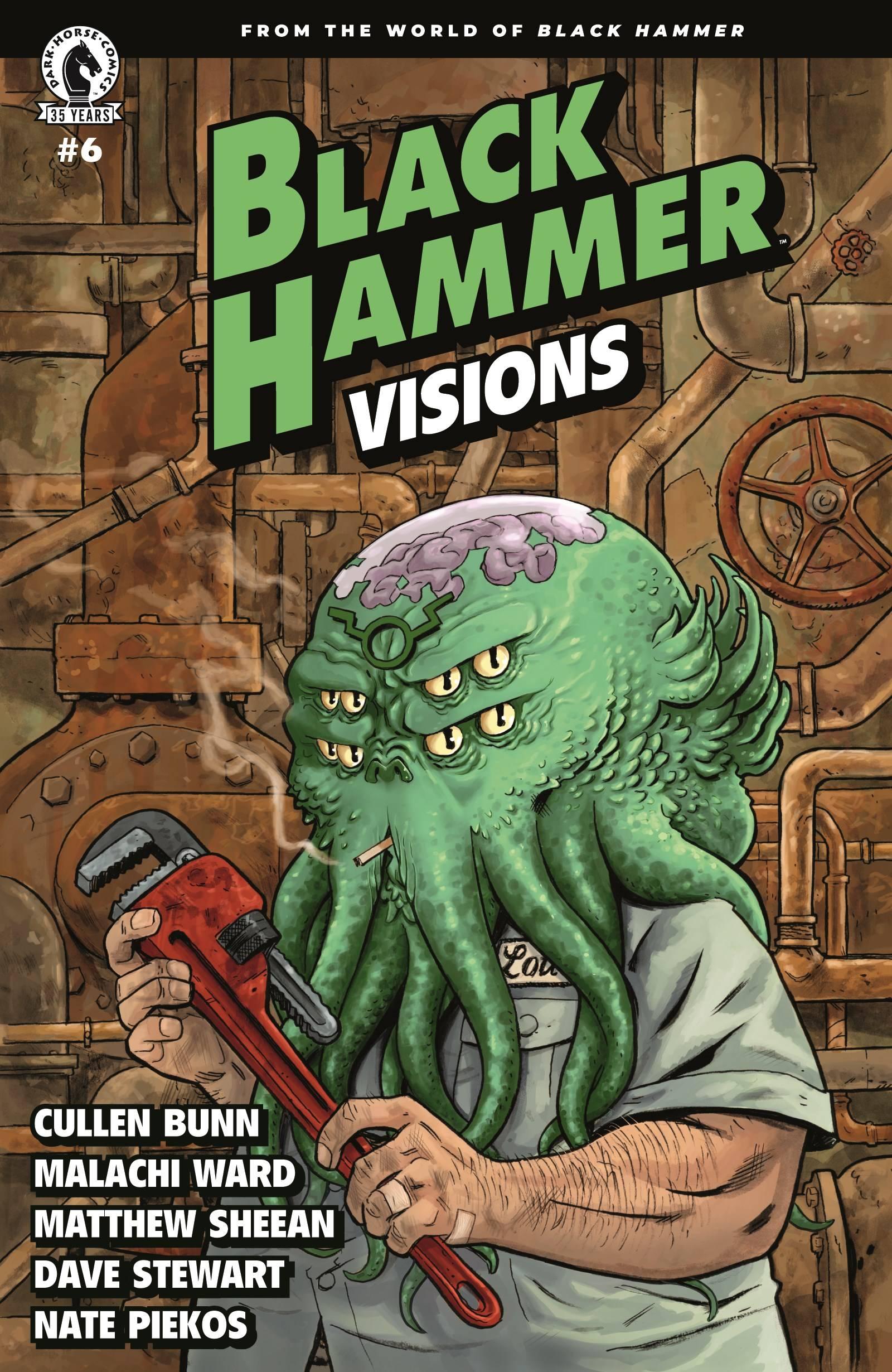 Leer Black Hammer: Visions Online en Español