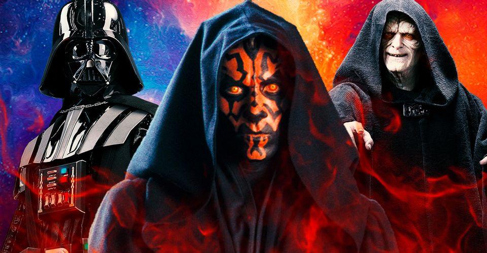 Star Wars: Todos los Lord Sith en Canon moderno