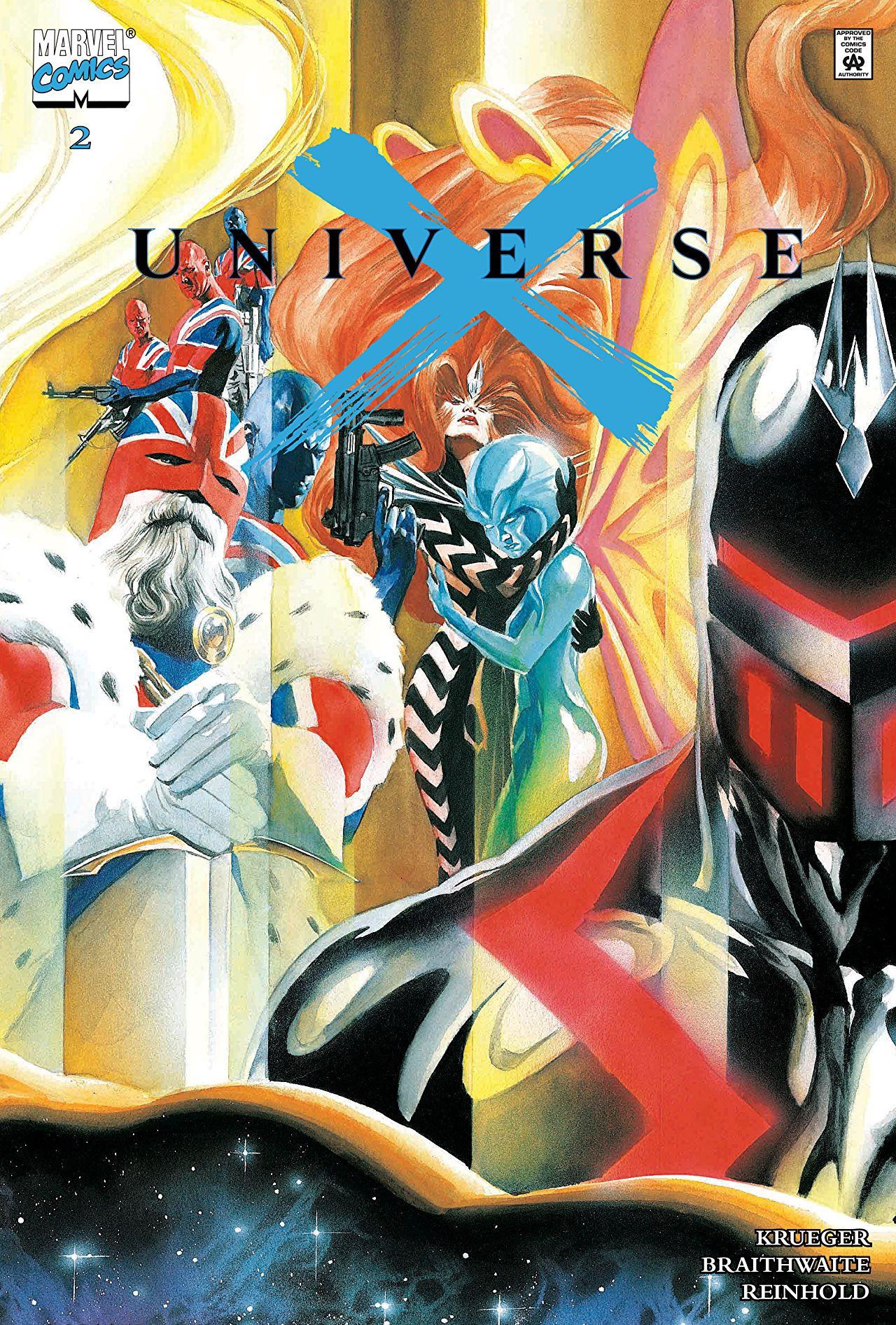 Leer Universe X / Universo X Online en Español