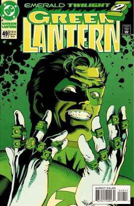 Leer Green Lantern Crepusculo Esmeralda Online en Español