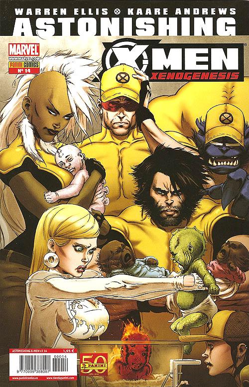 Leer Astonishing X-Men Xenogenesis Online en Español