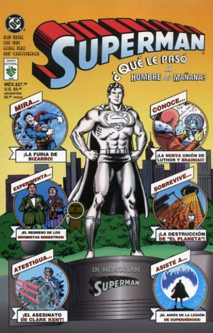 Leer Superman ¿Que le paso al hombre del mañana? Online en Español
