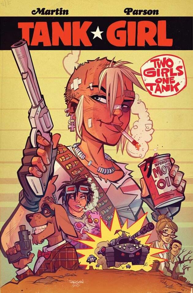 Leer Tank Girl Volumen 1 y 2 online en Español