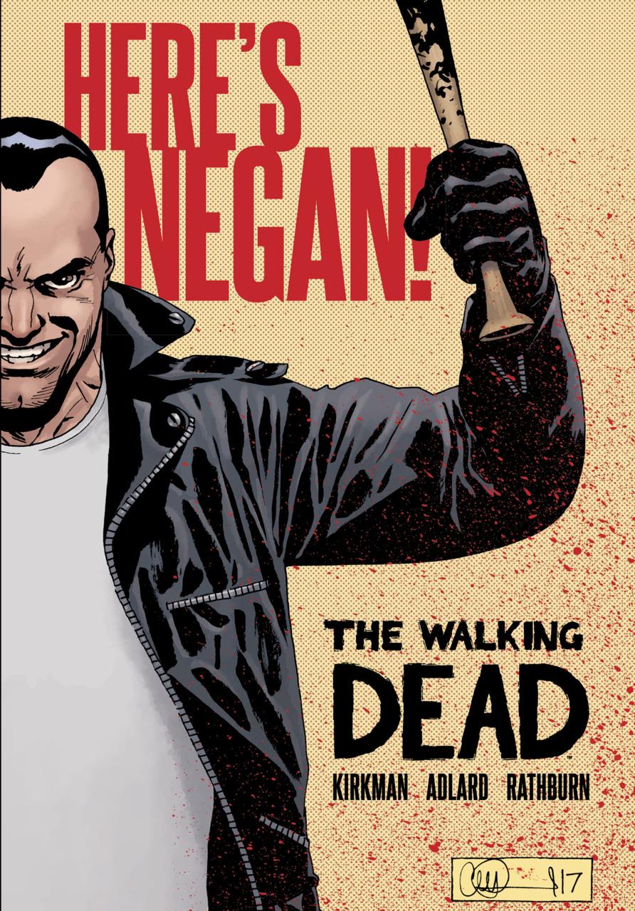 Leer The Walking Dead: Here's Negan! Online en Español