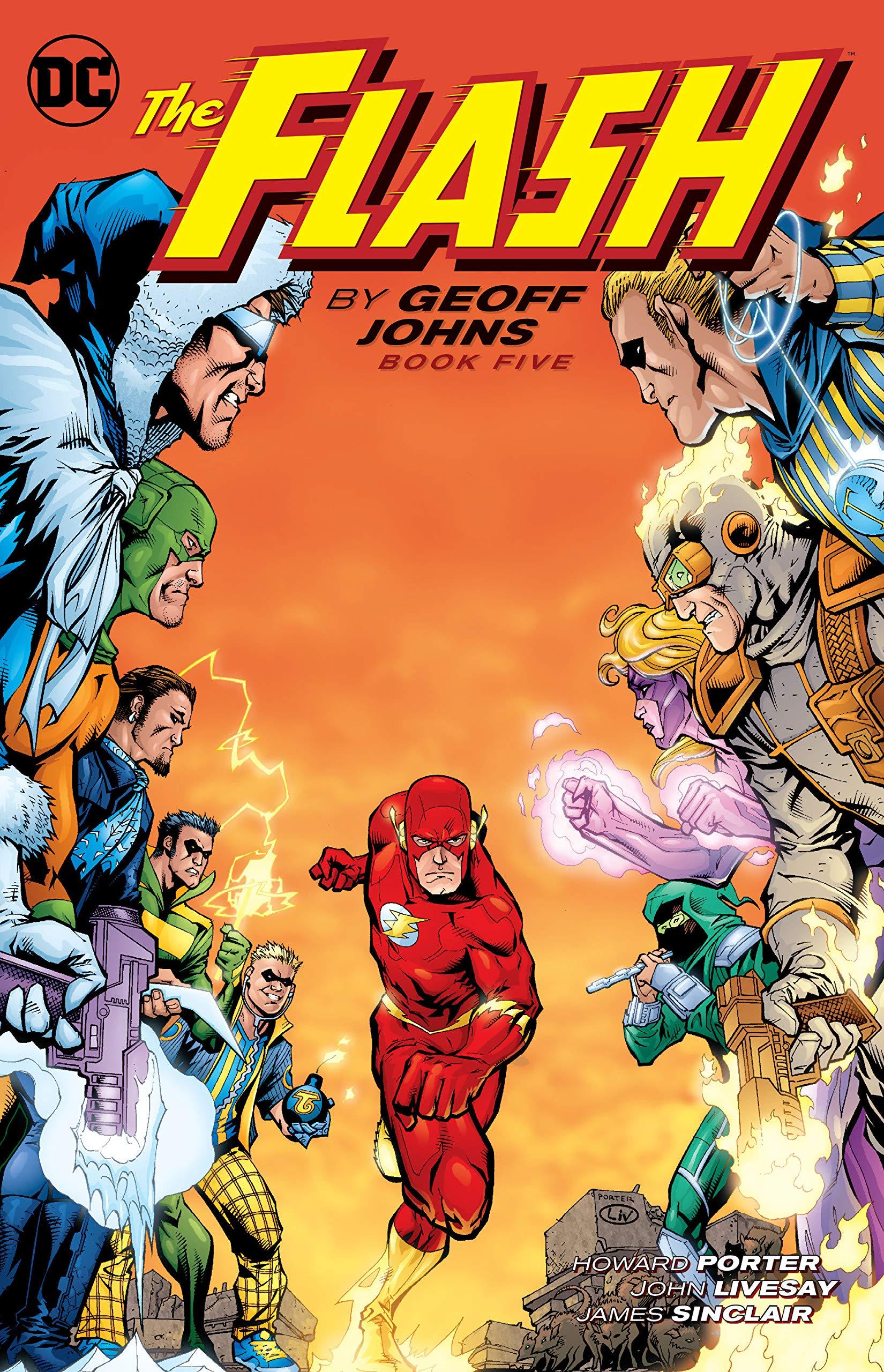 Leer Flash Volumen 2 y 3  (Geoff Johns) online en español