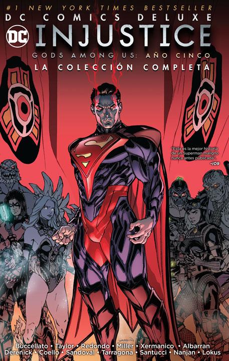 Leer Injustice año 5 Comic Online en Español