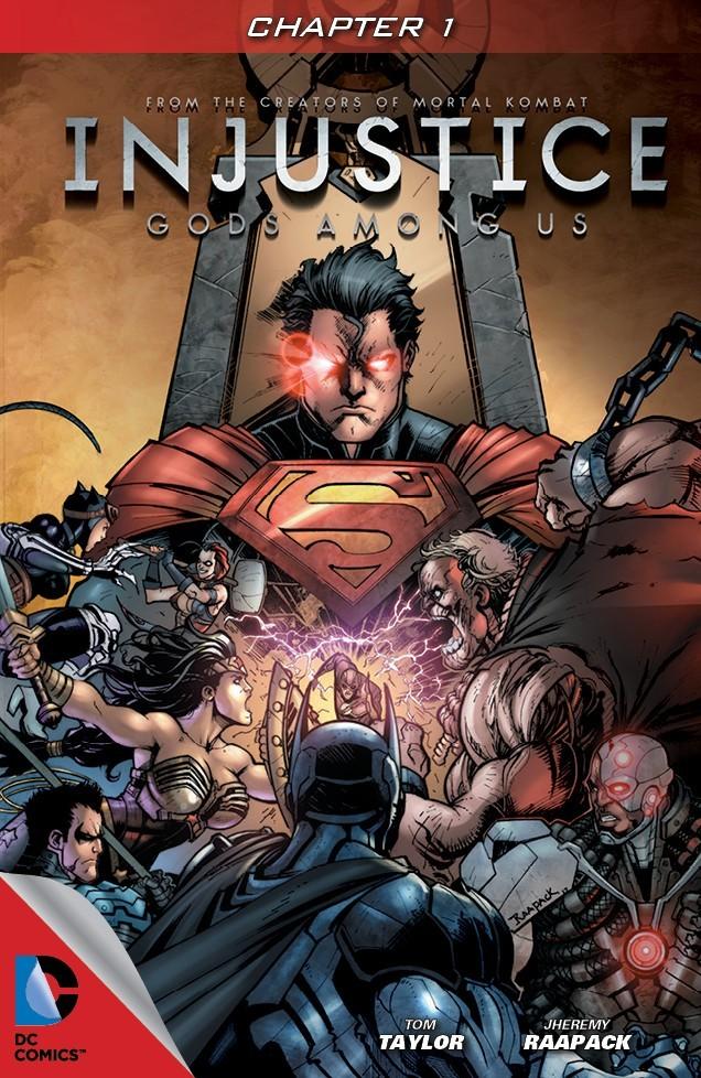 Leer Injustice año 1 Comic Online en Español