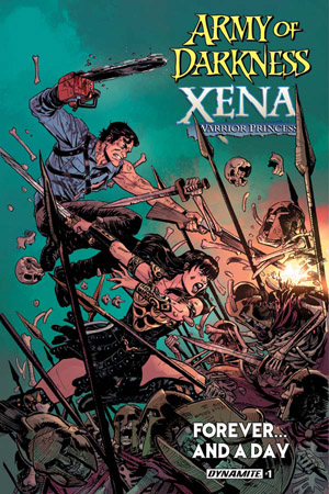 Leer Army of Darkness / Xena, Warrior Princess: Forever and a Day Online en Español