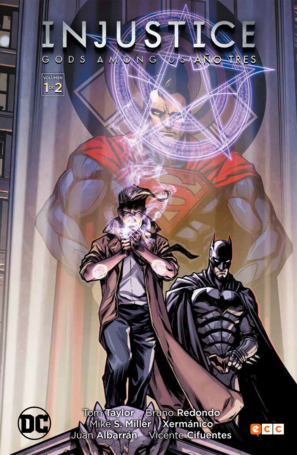 Leer Injustice año 3 Comic Online en Español