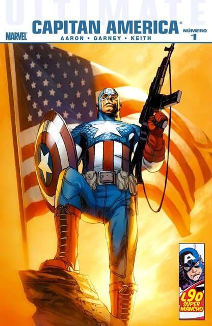 Leer Ultimate Capitan America Online en Español