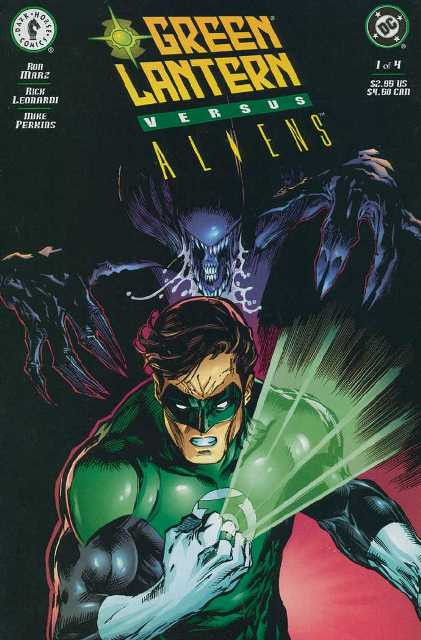 Leer Green Lantern vs Aliens Comic online en español