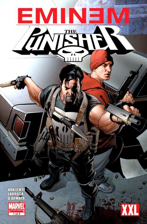 Leer Eminem/Punisher Comic Online en Español