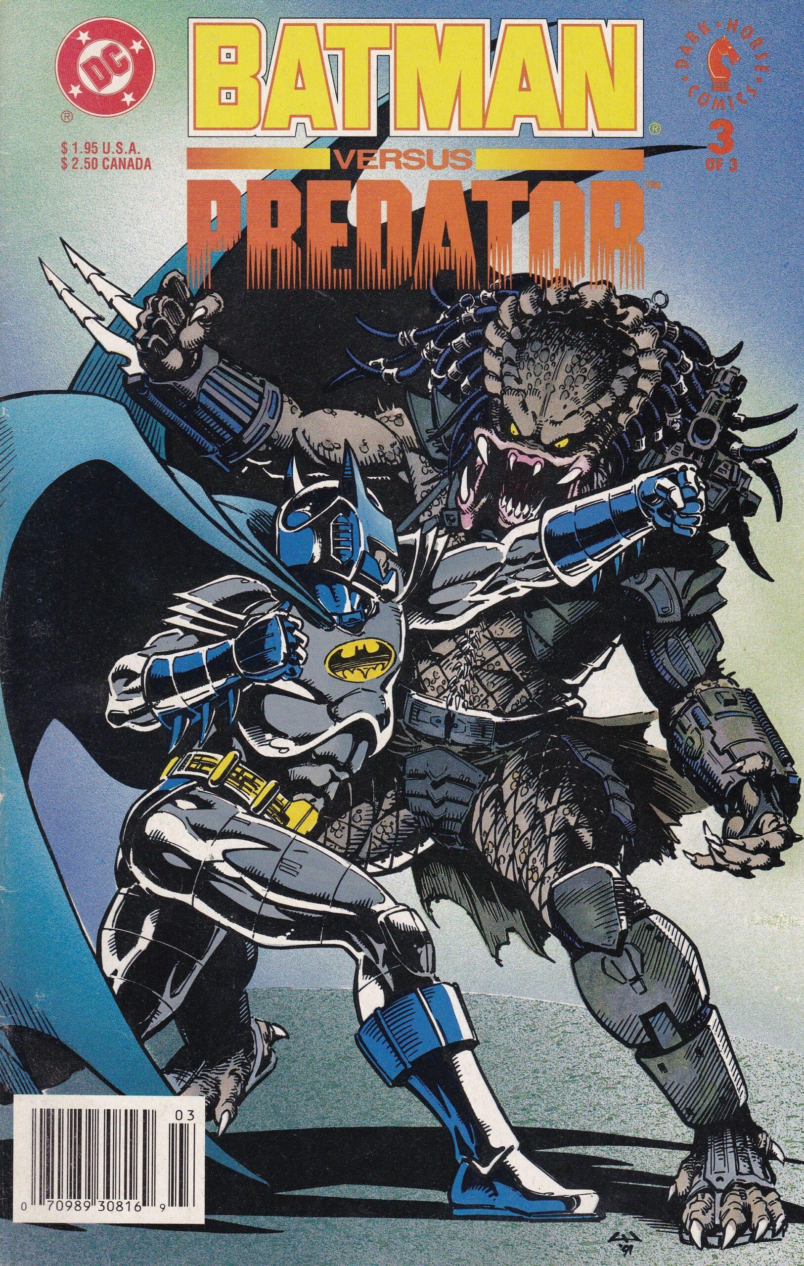 Leer Batman vs Depredador Volumen 1, 2 y 3 Comic Online en Español