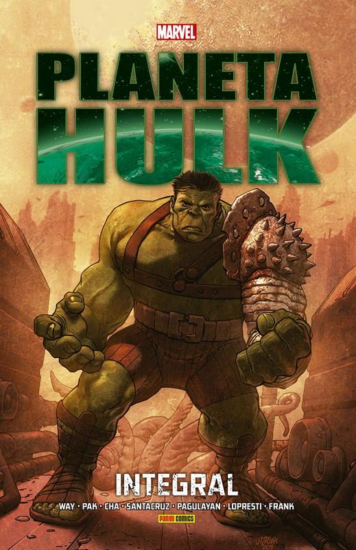 Leer Planet Hulk Online en español
